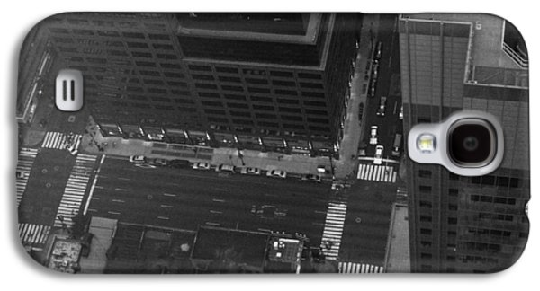 Cab Galaxy S4 Cases - NYC from the Top Galaxy S4 Case by Naxart Studio