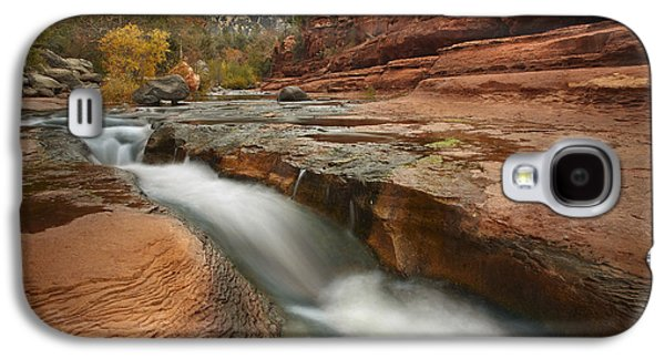 Wetlands Galaxy S4 Cases - Oak Creek In Slide Rock State Park Galaxy S4 Case by Tim Fitzharris