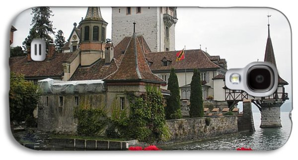 Fantasy Photographs Galaxy S4 Cases - Oberhofen Castle Switzerland Galaxy S4 Case by Marilyn Dunlap