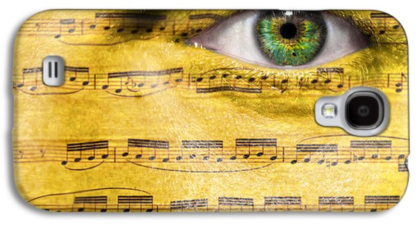 Timing Galaxy S4 Cases - Obsessed with Music Galaxy S4 Case by Semmick Photo