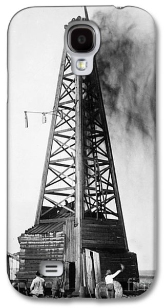 Granger - Galaxy S4 Cases - OKLAHOMA: OIL WELL, c1922 Galaxy S4 Case by Granger