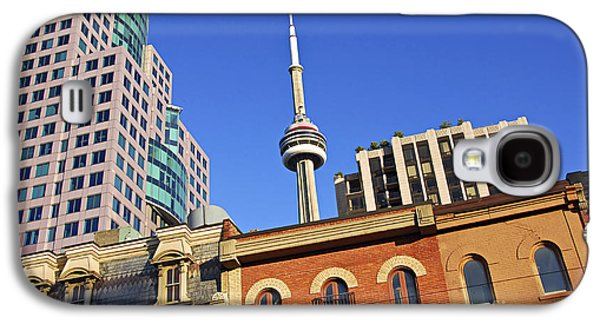 See Galaxy S4 Cases - Old and new Toronto Galaxy S4 Case by Elena Elisseeva