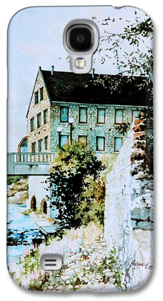 Old Mills Galaxy S4 Cases - Old Cambridge Mill Galaxy S4 Case by Hanne Lore Koehler