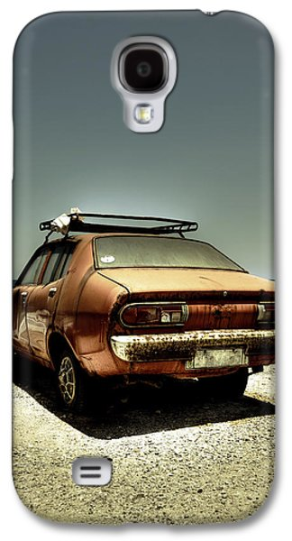 Rusted Cars Galaxy S4 Cases - Old Car Galaxy S4 Case by Joana Kruse