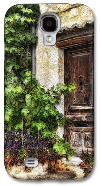 Best Sellers -  - Abstract Digital Pyrography Galaxy S4 Cases - Old Door 2 Galaxy S4 Case by Mauro Celotti