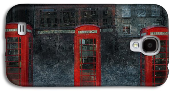 Architecture Mixed Media Galaxy S4 Cases - Old Friends Galaxy S4 Case by Svetlana Sewell