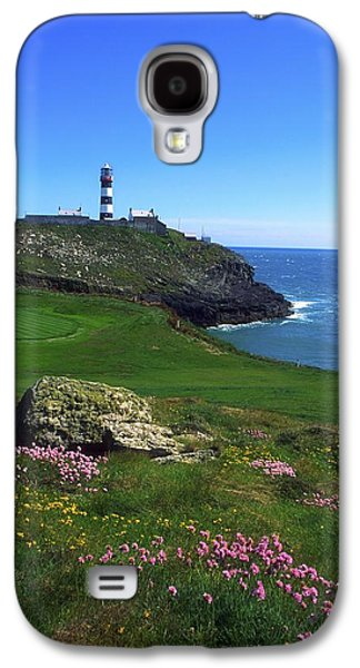 Landmarks Photographs Galaxy S4 Cases - Old Head Of Kinsale Lighthouse Galaxy S4 Case by The Irish Image Collection