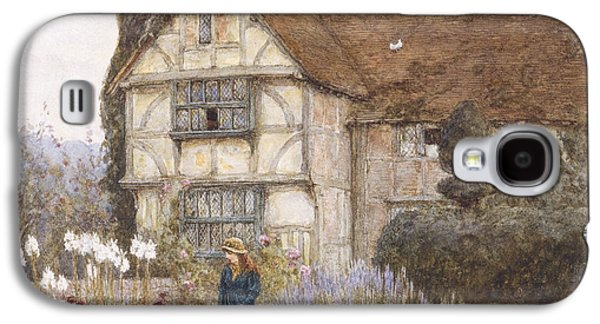 Old Manor House Galaxy S4 Case by Helen Allingham