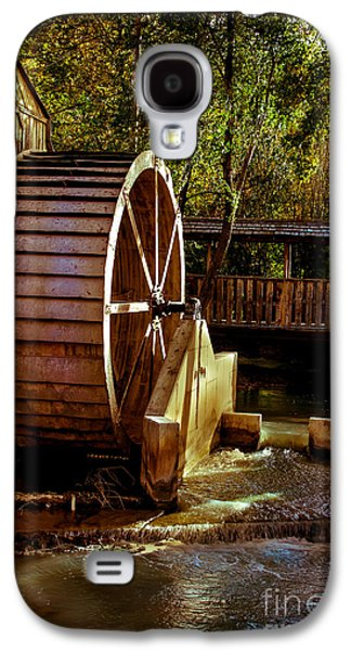 Feed Mill Galaxy S4 Cases - Old Mill Park Wheel Galaxy S4 Case by Robert Bales