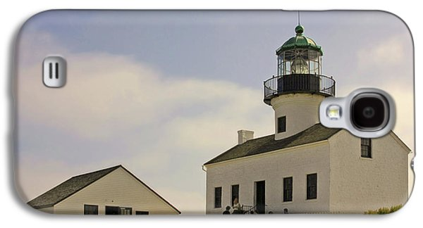 Coast Highway One Galaxy S4 Cases - Old Point Loma Lighthouse - Cabrillo National Monument San Diego CA Galaxy S4 Case by Christine Till