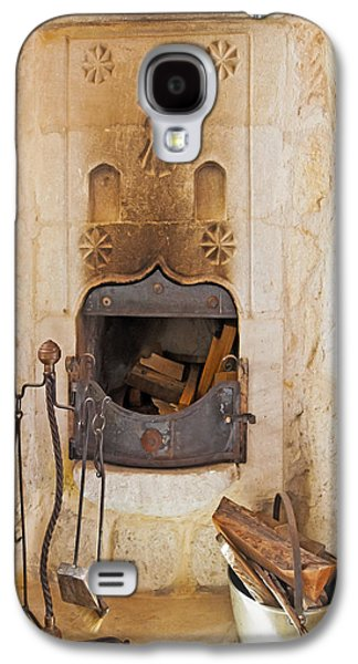 Candle Stand Galaxy S4 Cases - Olde Worlde fireplace in a Cave  Galaxy S4 Case by Kantilal Patel