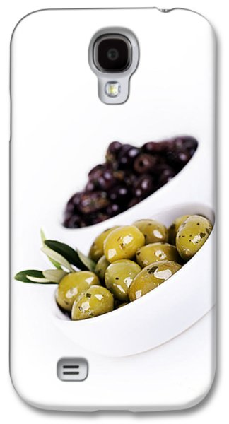 Studio Photographs Galaxy S4 Cases - Olive bowls Galaxy S4 Case by Jane Rix