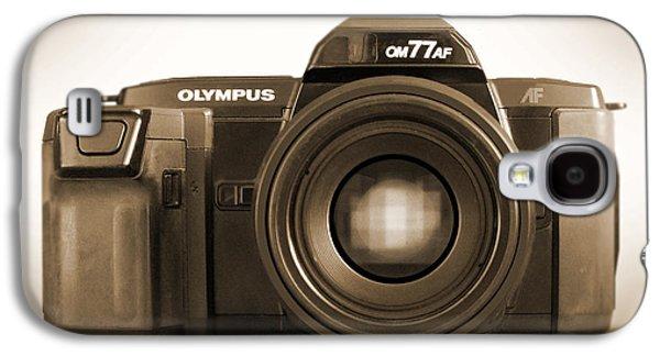 35mm Galaxy S4 Cases - Olympus OM77AF Galaxy S4 Case by Mike McGlothlen
