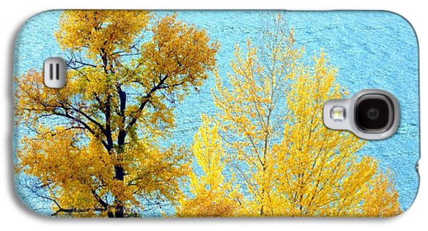 Autumn Leaf On Water Galaxy S4 Cases - On The Edge Galaxy S4 Case by Will Borden
