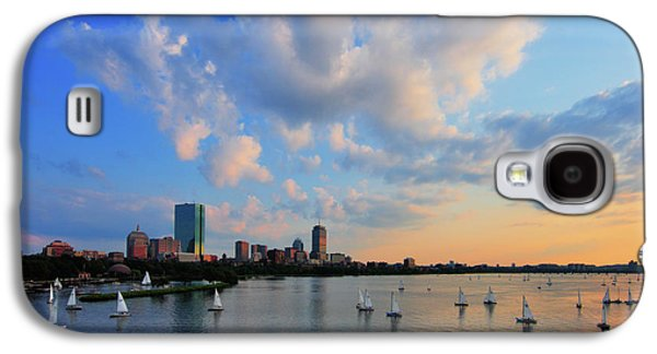 Charles River Galaxy S4 Cases - On The River Galaxy S4 Case by Rick Berk