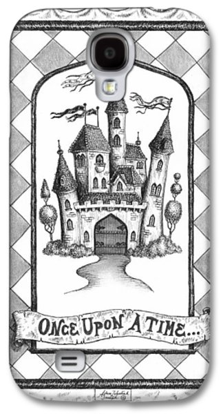 Pen And Ink Drawing Galaxy S4 Cases - Once Upon a Time Galaxy S4 Case by Adam Zebediah Joseph