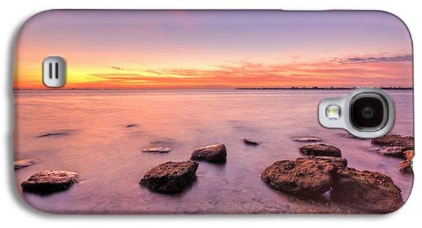 Sunrise Galaxy S4 Cases - One Fine Morning Galaxy S4 Case by Evelina Kremsdorf