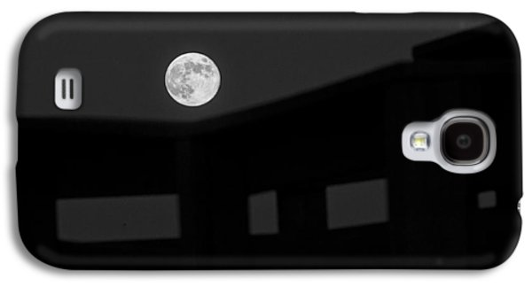 Man In The Moon Galaxy S4 Cases - One Small Step For A Man Galaxy S4 Case by Melany Sarafis