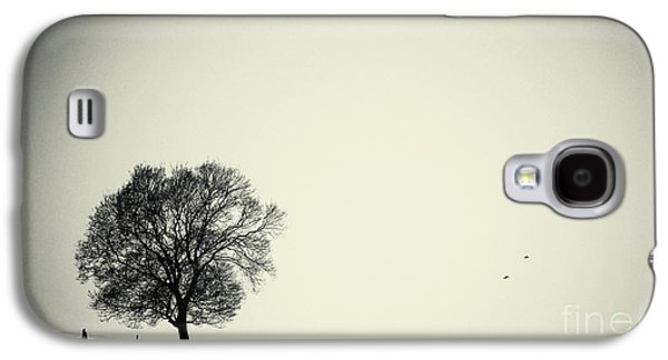 Trees Galaxy S4 Cases - One tree Galaxy S4 Case by Angela Doelling AD DESIGN Photo and PhotoArt