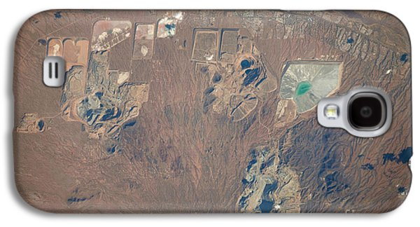 Mining Photos Galaxy S4 Cases - Open Pit Mines, Southern Arizona Galaxy S4 Case by NASA/Science Source