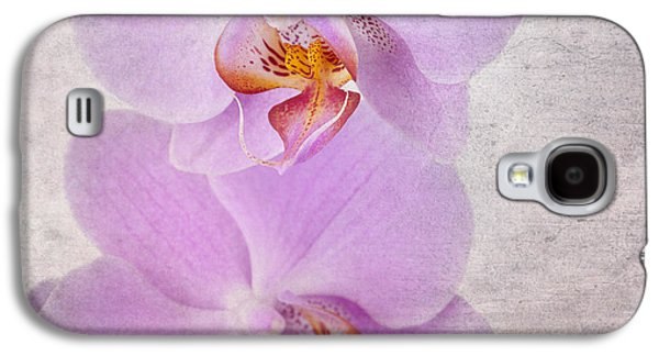 Manuscript Galaxy S4 Cases - Orchid Galaxy S4 Case by Jane Rix