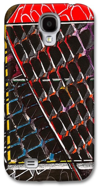 Behind The Scenes Drawings Galaxy S4 Cases - Organizational Sampling Galaxy S4 Case by Al Goldfarb