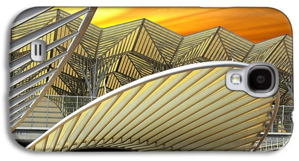 Business Galaxy S4 Cases - Oriente Station Galaxy S4 Case by Carlos Caetano
