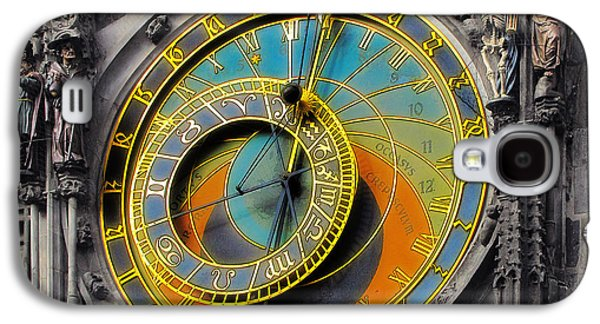 Pieces Galaxy S4 Cases - Orloj - Astronomical Clock - Prague Galaxy S4 Case by Christine Till
