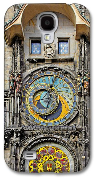 Pieces Galaxy S4 Cases - ORLOJ - Prague Astronomical Clock Galaxy S4 Case by Christine Till