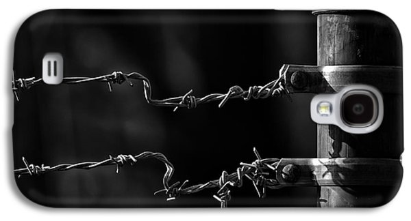 Fence Galaxy S4 Cases - Other side of the fence Galaxy S4 Case by Bob Orsillo