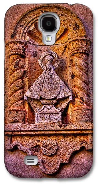 Relief Sculpture Galaxy S4 Cases - Our Lady of Good Success at the Chapel in Tlaquepaque Galaxy S4 Case by David Patterson