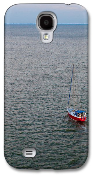 Water Vessels Galaxy S4 Cases - Out to Sea Galaxy S4 Case by Chad Dutson
