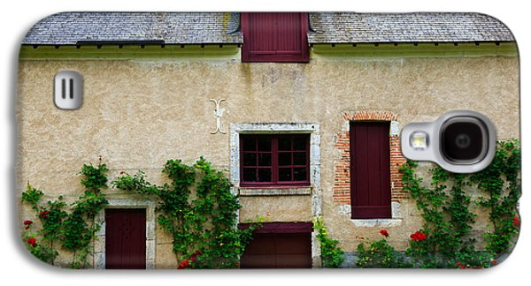 Outbuildings Galaxy S4 Cases - Outbuildings of Chateau Cheverny Galaxy S4 Case by Louise Heusinkveld