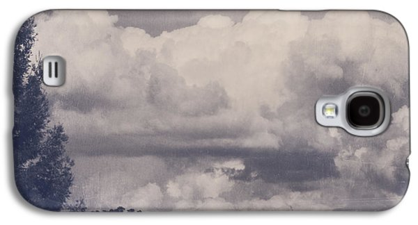 Cloudscape Digital Galaxy S4 Cases - Overwhelmed Galaxy S4 Case by Laurie Search