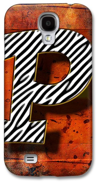 Music Pyrography Galaxy S4 Cases - P Galaxy S4 Case by Mauro Celotti