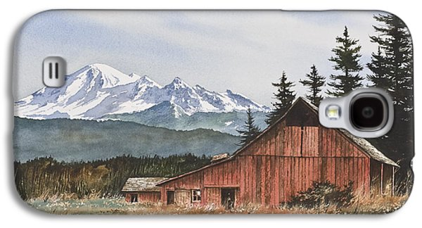 Landscape Greeting Cards Galaxy S4 Cases - Pacific Northwest Landscape Galaxy S4 Case by James Williamson