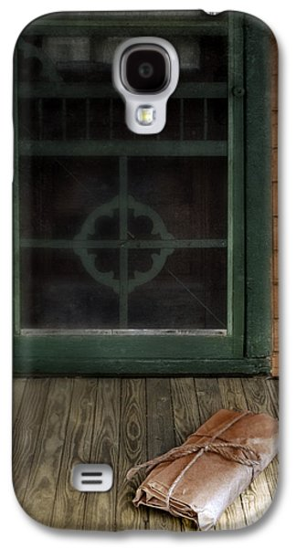 Screen Doors Galaxy S4 Cases - Package on Front Porch Galaxy S4 Case by Jill Battaglia