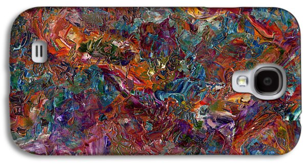 Textured Galaxy S4 Cases - Paint number 16 Galaxy S4 Case by James W Johnson