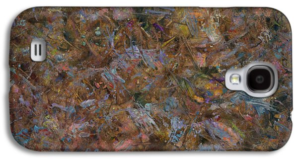 Abstract Expressionist Galaxy S4 Cases - Paint number 18 Galaxy S4 Case by James W Johnson
