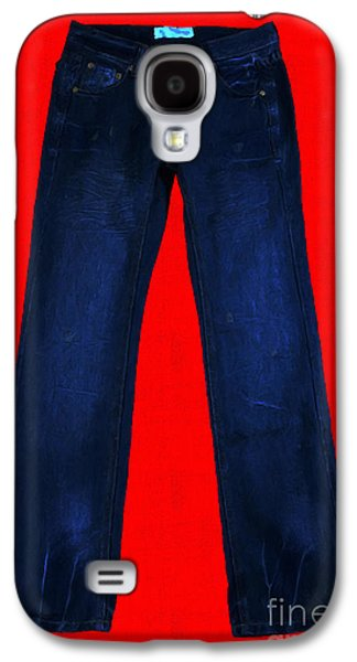 Levi Galaxy S4 Cases - Pair of Jeans 2 - Painterly Galaxy S4 Case by Wingsdomain Art and Photography