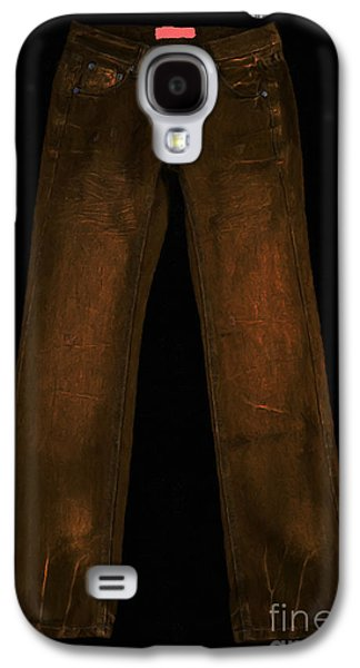 Levi Galaxy S4 Cases - Pair of Jeans 3 - Painterly Galaxy S4 Case by Wingsdomain Art and Photography