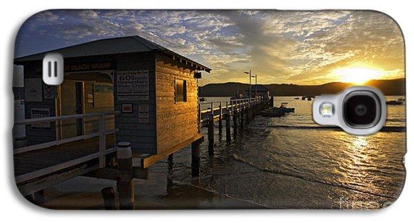 Beach Sunsets Galaxy S4 Cases - Palm Beach sunset Galaxy S4 Case by Sheila Smart