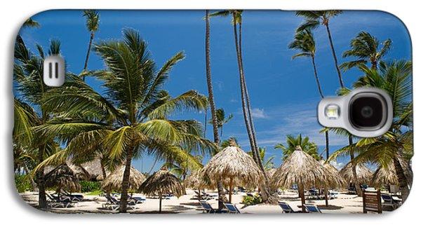 Island Galaxy S4 Cases - Paradise Beach Galaxy S4 Case by Sebastian Musial