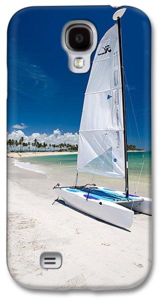 Sail Galaxy S4 Cases - Paradise Island Galaxy S4 Case by Sebastian Musial