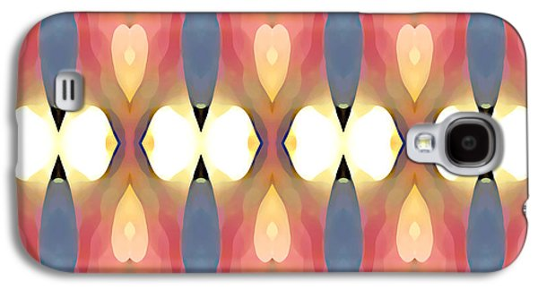 Abstract Forms Galaxy S4 Cases - Paradise Repeated Galaxy S4 Case by Amy Vangsgard