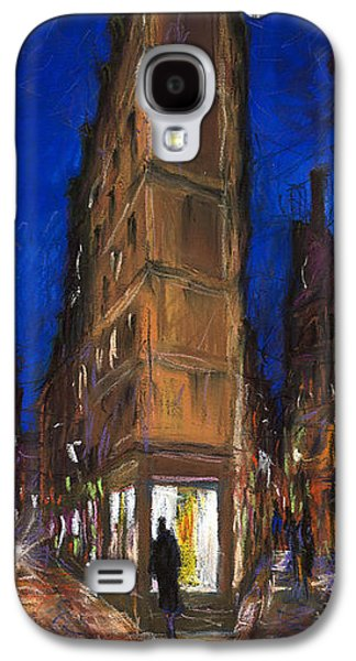 Light Pastels Galaxy S4 Cases - Paris Street 2 Galaxy S4 Case by Yuriy  Shevchuk