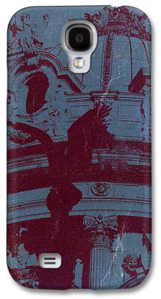 European City Digital Art Galaxy S4 Cases - Parisian Opera Galaxy S4 Case by Naxart Studio