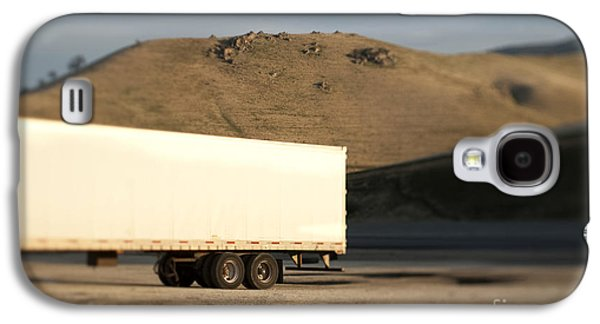 Parked Semi Trailer Galaxy S4 Case by Eddy Joaquim