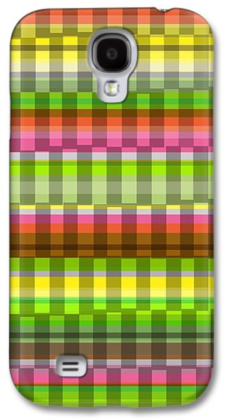 Louisa Galaxy S4 Cases - Party Stripe Galaxy S4 Case by Louisa Knight