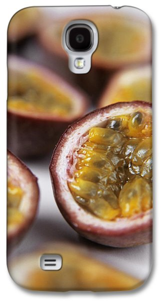 Passion Fruit Halves Galaxy S4 Case by Veronique Leplat